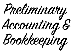 Preliminary Accounting & Bookkeeping - Bookkeeping - Calgary, AB logo